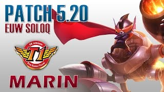 SKT T1 MaRin - Rumble Top Lane - EUW SoloQ