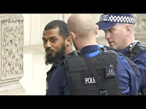 Terrorverdächtiger am Parlament in London festgenommen