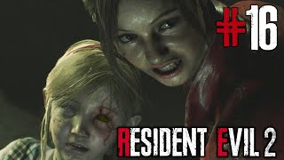 Resident Evil 2 Remake - Cap. 16 - Sherry está infectada? - Claire Redfield