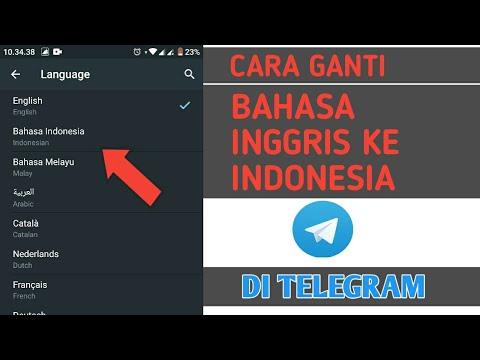 Cara Merubah Bahasa Inggris Ke Indonesia Di Telegram Youtube
