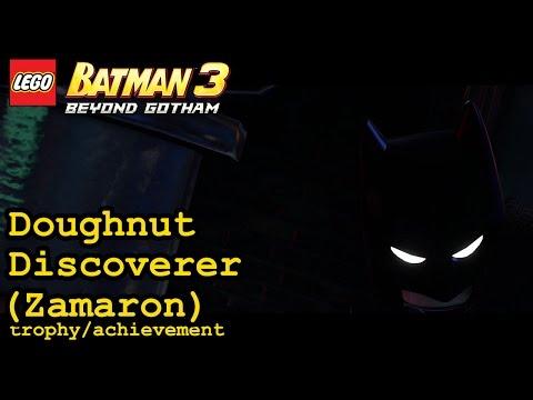 Doughnut Discoverer trophy / achievement | Zamaron | Lego Batman 3: Beyond Gotham