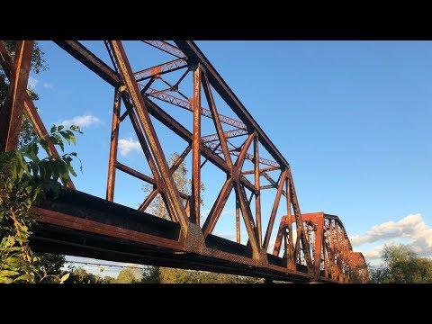 Brazos River Railroad Bridge   4K