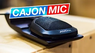 Meet My Cajon Microphone - Sela Cajon with Audix ADX60 Mic