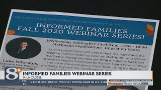 La Crosse County Health Deparment hosts new webinars to educate youth about substance abuse