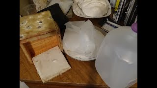 Recycling milk jugs into ballistic plates