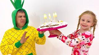 Nastya y papá celebran sus cumpleaños con estilo