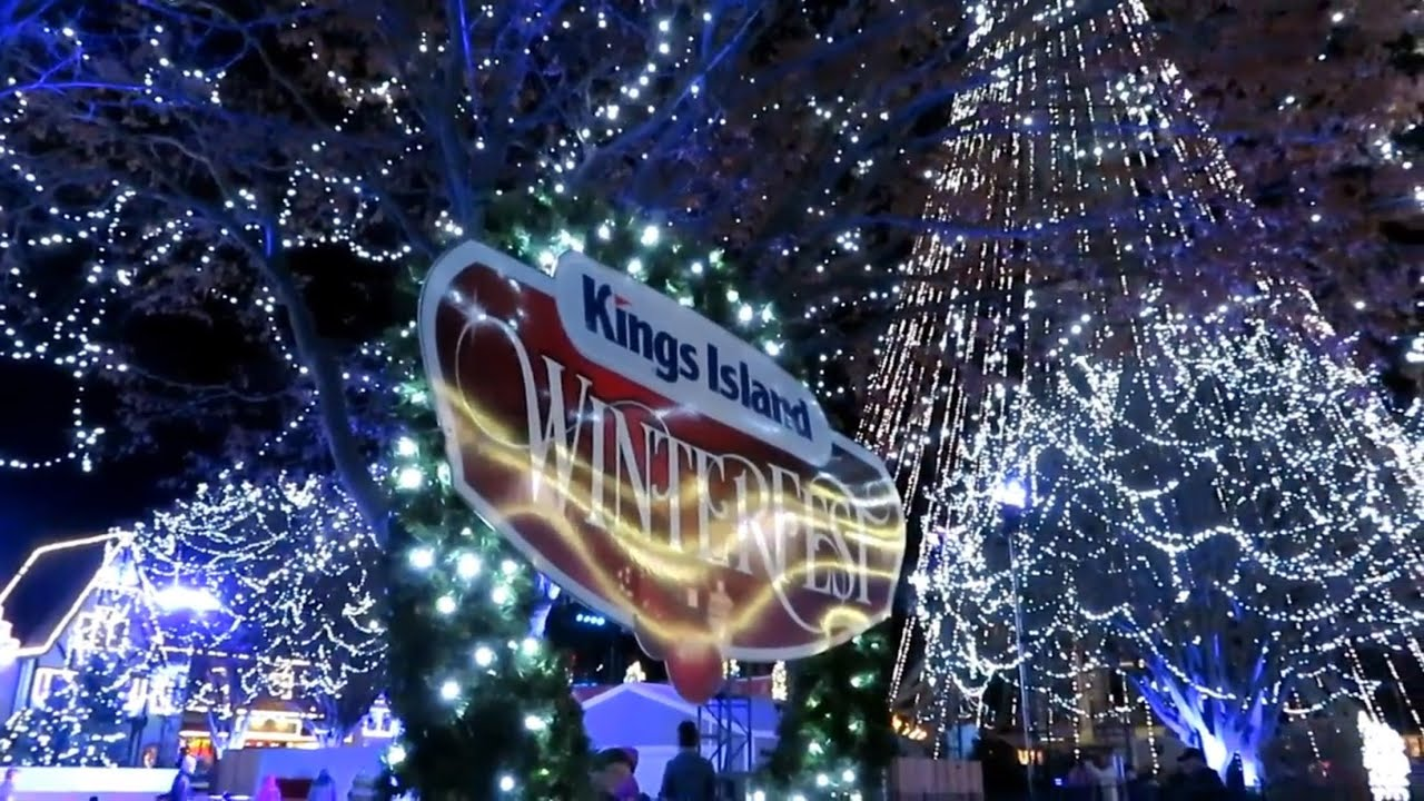 Kings Island Winterfest Opening Night 2017 FULL EXPERIENCE! - YouTube