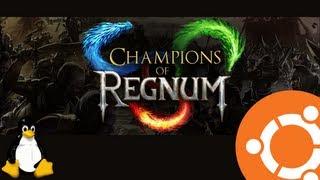 Champions of Regnum Gameplay on Ubuntu Linux (Native)