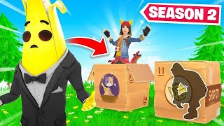 Hide In The CARDBOARD BOX Or LOSE! (Fortnite Season 2)