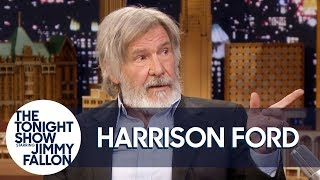 Harrison Ford and Jimmy Tell Each Other Jokes