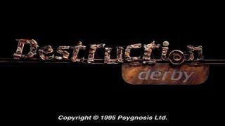 Destruction Derby gameplay (PC Game, 1995)