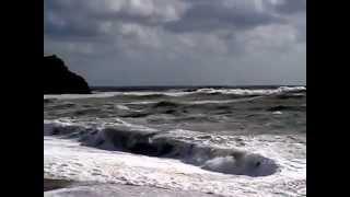 Циклон на Черном море. (Ольгинская бухта, Туапсинский район).(, 2014-10-07T16:30:38.000Z)