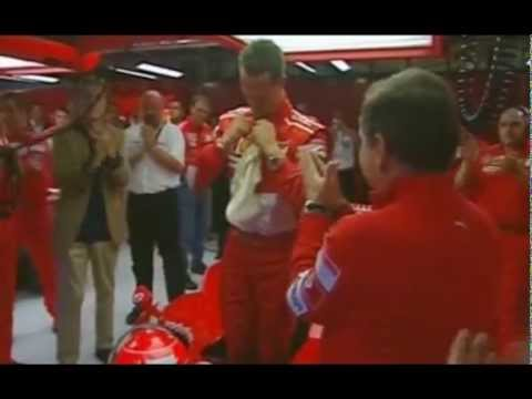 Michael Schumacher's last lap with Ferrari