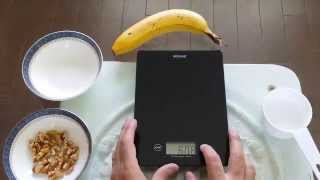 How to use the Digiscale digital food scale video