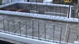 Дом из монолитного бетона с несъемной опалубкой из пенопласта  Часть 1 (Строить не перестроить)(, 2013-08-11T18:55:22.000Z)