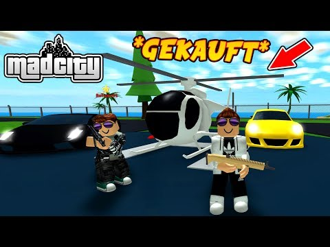 🤑 1,000,000€ HELIKOPTER GEKAUFT! - MAD CITY ROBLOX
