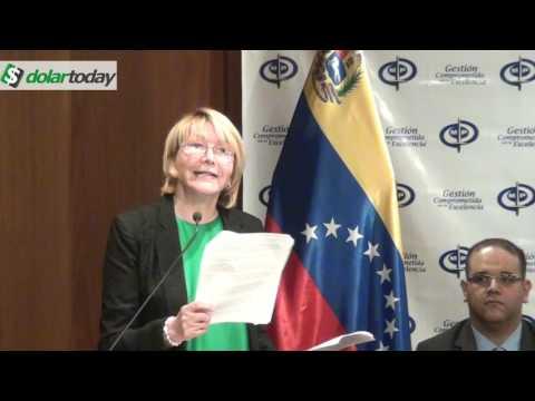 Fiscal General de Venezuela: Las armas son para el pueblo y no para el gobierno