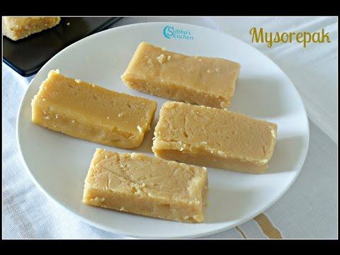 Krishna Sweets Style Mysorepak | Mysorepak | Diwali Sweets