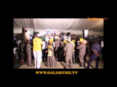 GOLDMYNETV: K1 D ULTIMATE'S PERFORMANCE AT TAIWO HASSAN OGOGO'S ALBUM LAUNCH