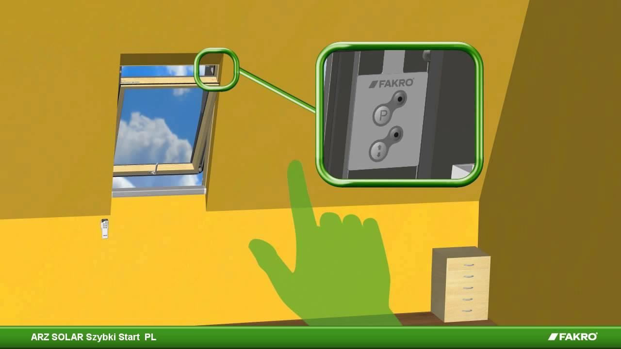 Fakro Arz Solar Szybki Start Youtube