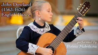 John Dowland. English Dance (performed by Polina Maletkina)