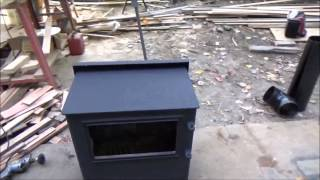 Finished Insulating My Tiny House Ceiling And Started Wood Stove Installation S27
