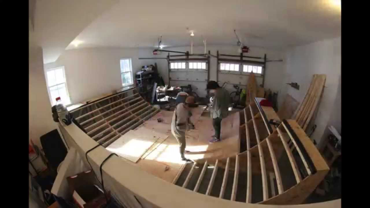 3 Days in 3 Minutes Mini Ramp Build Time Lapse YouTube – Garage Mini Ramp Plans