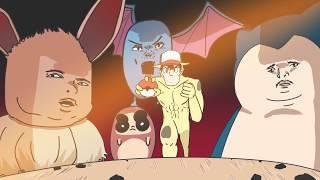 【鹿人泥鰍劇場】厚臉皮之王|惡搞.神奇寶貝.寶可夢|