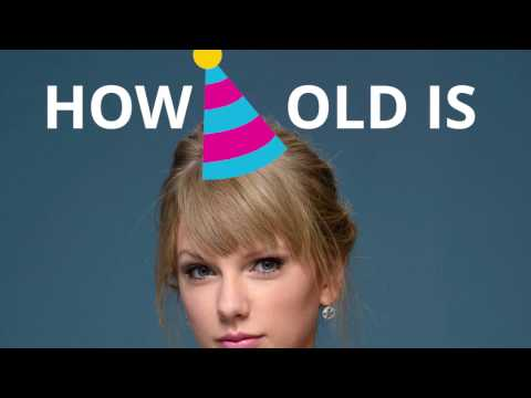 How old is Taylor Swift? 🍰🎈