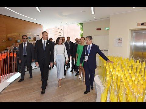 """""""Milan Expo 2015"""" Ümumdünya sərgisindəki Azərbaycan pavilyonunda """"Milli gün"""" təşkil olunub"""