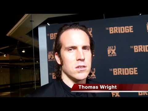 Thomas Wright Talks THE BRIDGE Season 2