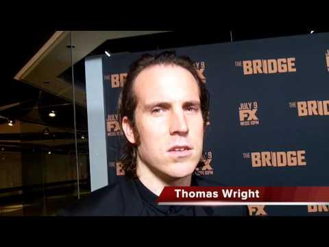 Thomas Wright Talks THE BRIDGE Season 2
