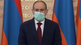 Пашинян заразился коронавирусом Заразилась вся семья Коронаиврус в СНГ