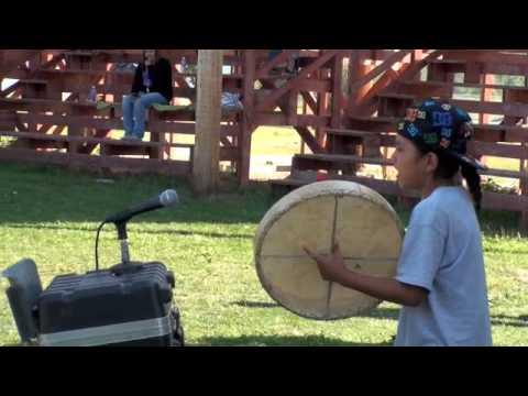 9 Year Old Rocks Hand drum