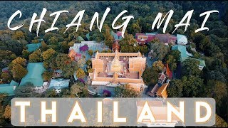 The BEST view of Chiang Mai from Doi Suthep temple | Thailand Travel Vlog Ep. 19
