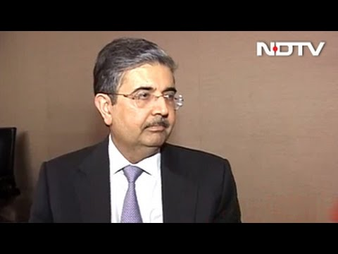 Seeing Signs Of Pick-Up In Economy: Uday Kotak