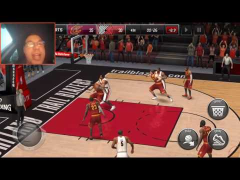 NBA LIVE MOBILE - IMPACT WESLEY MATTHEWS REVIEW & GAMEPLAY - HE'S DEADLY FROM 3!!!