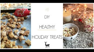 EASY DIY Healthy Holiday Treats in Under 5 Minutes! Thumbnail