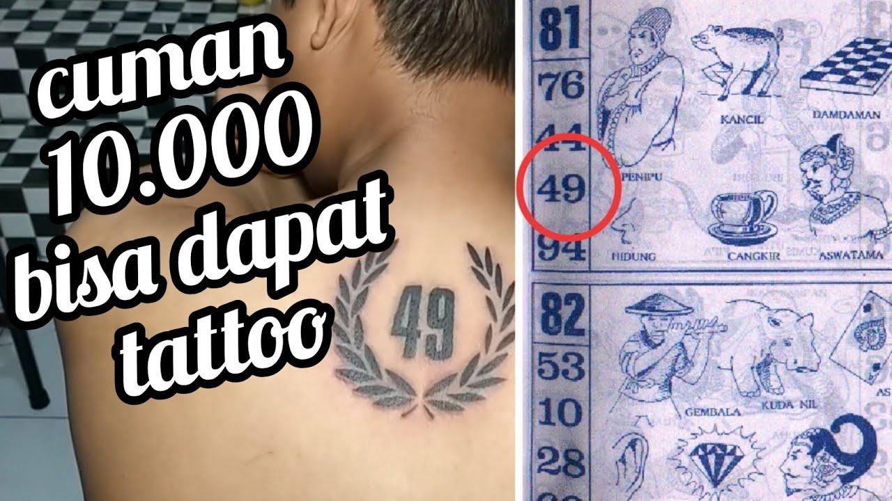 tato angka || number tattoo || tato unik || black work tattoo || tattoo inonesia || tato viral