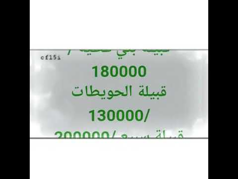 تعداد القبائل في السعوديه Youtube