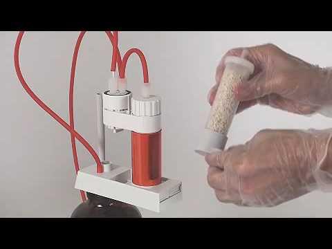 Preparing The Burette - Karl Fischer Titrator