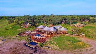 Somalisa Camp: Luxury Tented Camp in Zimbabwe's Hw...