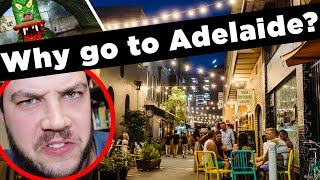 Adelaide, why would you want to go there? 😤
