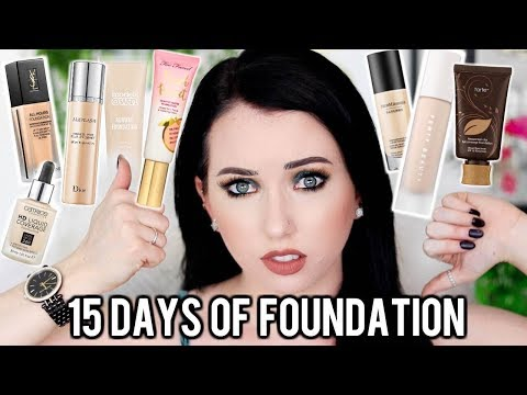 THE BEST & WORST FOUNDATIONS! 15 Days of Foundation Season 4