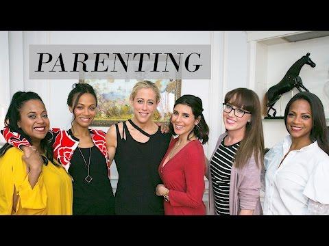 Parenting  Rosé Roundtable: Zoe Saldana, JamieLynn Sigler, Cristina Bentley, Lacey Stone