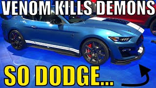 "Dodge calls 2020 SHELBY GT500 ""CUTE"" and more Reaction to Reveal!"