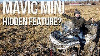 Mavic Mini Quickshots Has a Hidden Feature!