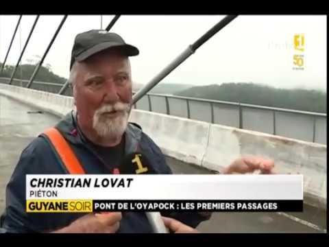 Ouverture du pont d'Oiapoque