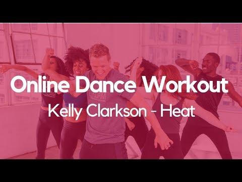 Online Dance Workout - Kelly Clarkson - Heat