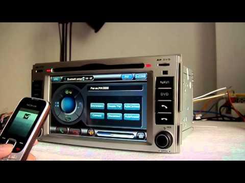 Hyundai Santa Fe Dvd Navigation With Radio Ipod Bluetooth
